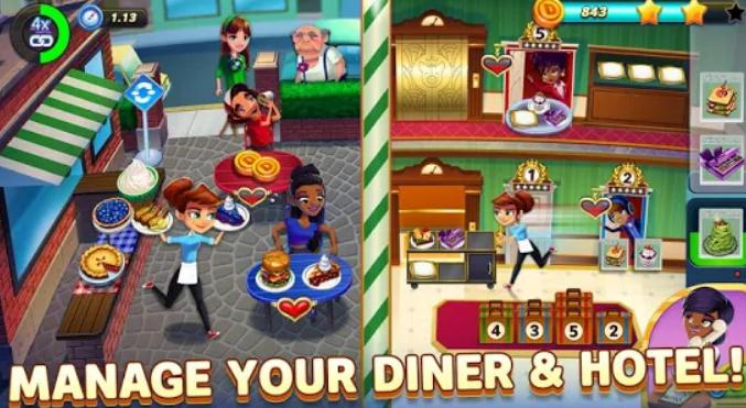 تحميل لعبة Diner DASH Adventures