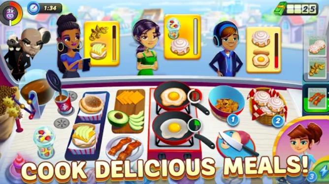 تحميل Diner DASH Adventures