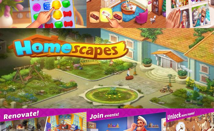 لعبة Homescapes