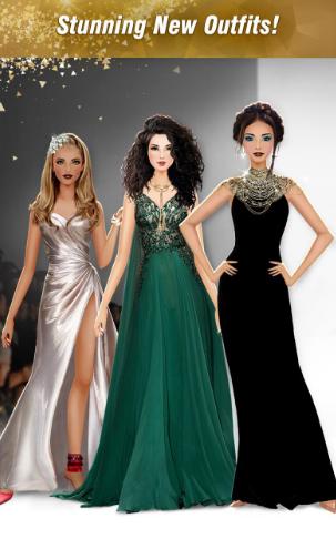 لعبة International Fashion Stylist للاندرويد