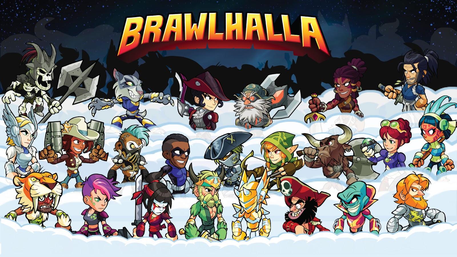 لعبة brawlhalla