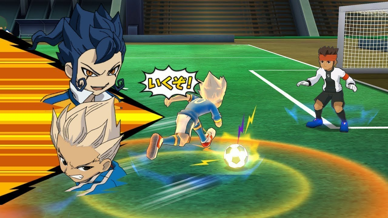 لعبة inazuma eleven go strikers