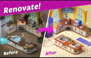 تحميل لعبة homescapes مهكرة اخر اصدار