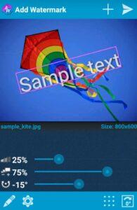 تطبيق Add Watermark on Photos لوضع الحقوق على الصور والفيديو